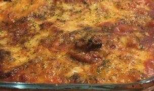 Alisha's quick aubergine parmigiana